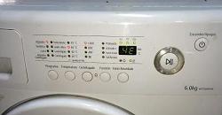Стиральная машина Самсунг и коды ошибок