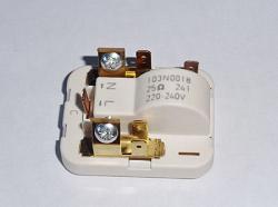 реле пуска компрессора холодильника индезит