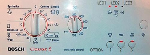 Считать ошибки стиральной машины Бош   Сименс без дисплея. Таблица  считывания кодов ошибок ... 30f0bc62daab5
